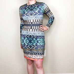 Clover Canyon Jeweled Tapestry Dress Sz M 294